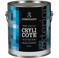 10 SERIES CRYLICOTE FLAT FINISH ACRYLIC HOUSE PAINT